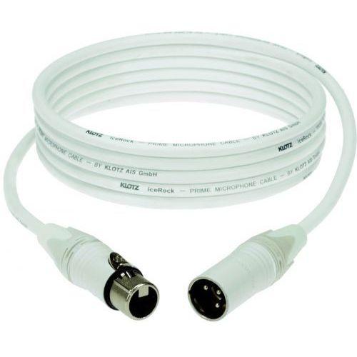 przewód mikrofonowy biały 1m marki Klotz