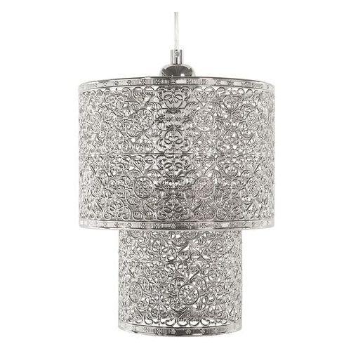 Beliani Lampa wisząca niklowa osun (4260624111155)