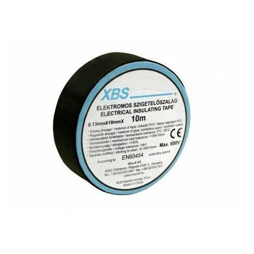 Taśma izolacyjna PVC 0,13x19mm 10m czarna SZ10/B XBS 9116