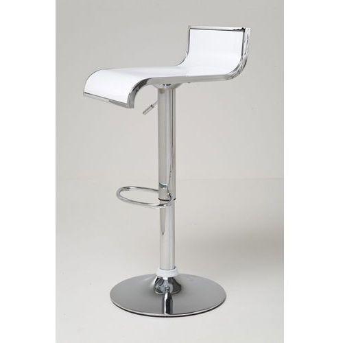 :: hoker coffeeshop biały - coffeeshop biały ||biały ||srebrny marki Kare design