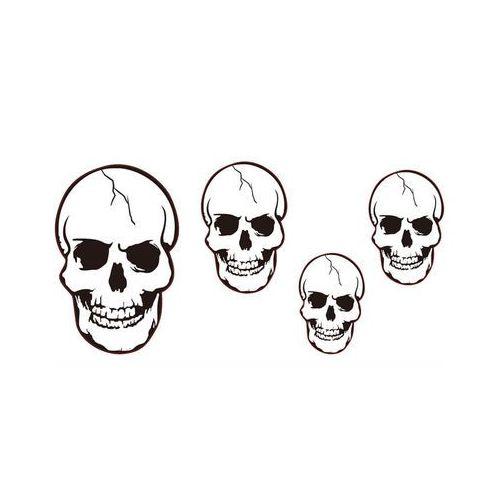 Zestaw dekoracji na ścianę - czaszki
