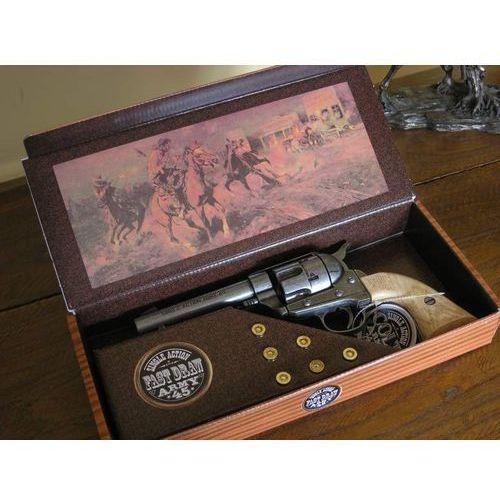 Colt peace maker z 1873 krótka lufa + naboje (k1062-1mp) marki Hiszpania