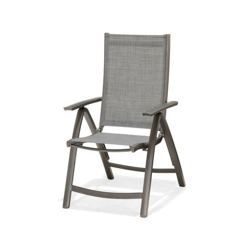Krzesło składane z podłokietnikami solana modern house bogata chata marki Scancom