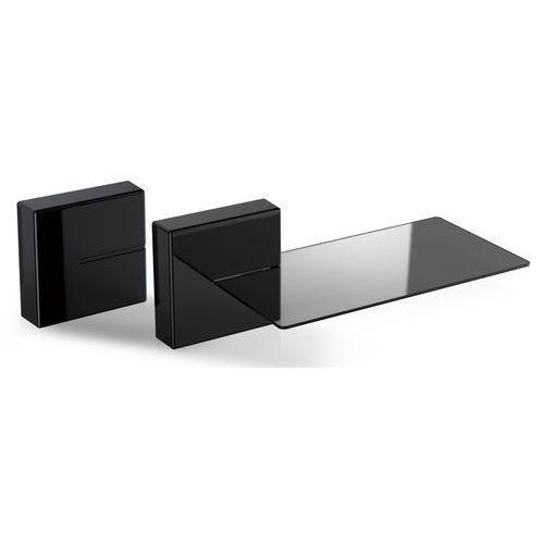 Meliconi Ghost Cubes - maskownice do kabli (2 sztuki) + szklana półka (8006023249145)