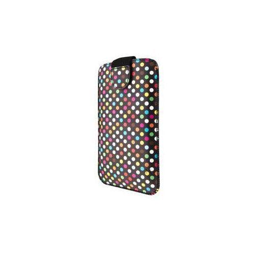 Fixed Etui na komórkę  soft slim elements 5xl+ - rainbow dots (fixsos-rad-5xl+)