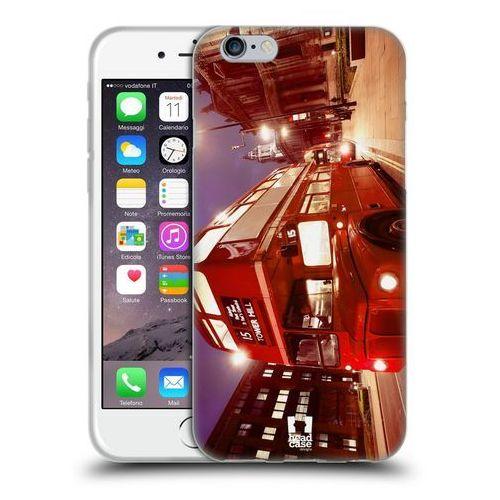 Head case Etui silikonowe na telefon - najlepsze miejsca czerwony autobus w londynie