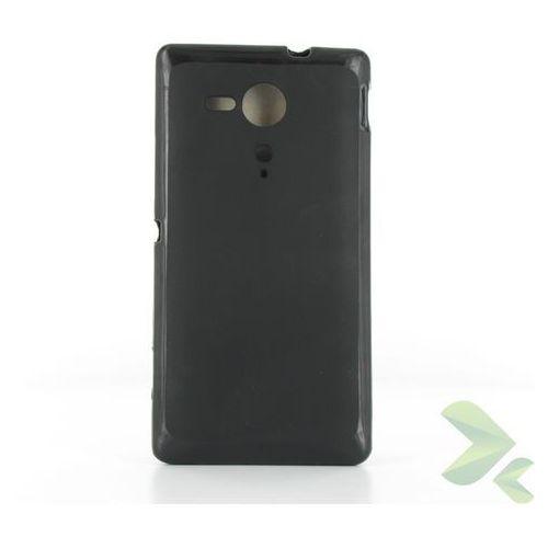 Geffy  - etui sony xperia sp tpu solid color black