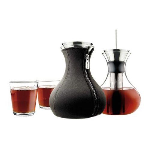 Zaparzacz do herbaty z 2 szklankami 1l black marki Eva solo