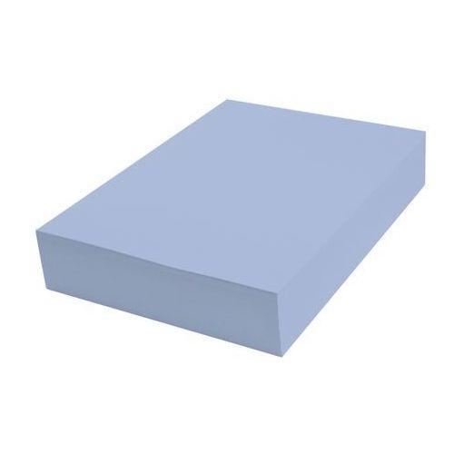 Papier techniczny kolorowy 100 ark A4 niebieski pastel 3 160 g