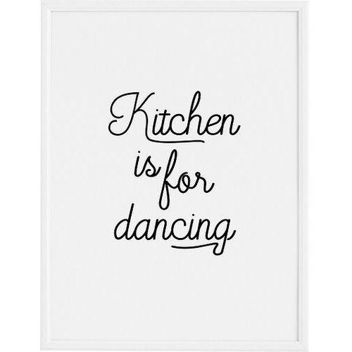 Plakat Kitchen is for Dancing 21 x 30 cm, FBKITDAN2130