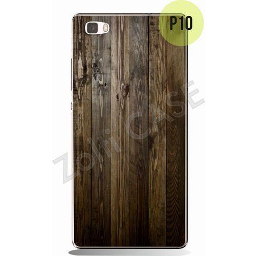 Zolti Obudowa  metal bumper case - huawei p8 lite - texture - wzór p10 - p10