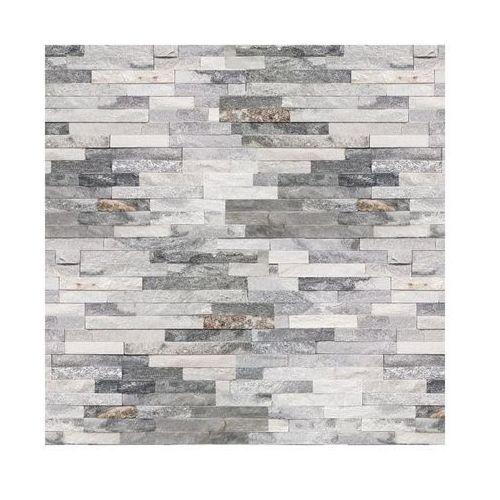 Kamień naturalny KWARC Biało - szary 40 x 10 cm (5902406632166)