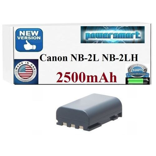 Powersmart Bateria canon nb-2l nb-2lh bp-2l12 bp-2l14 2500mah