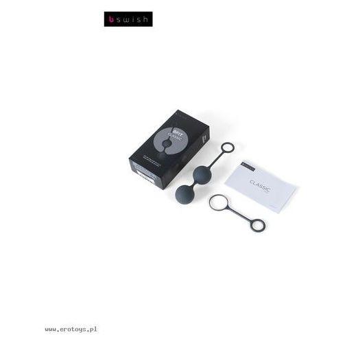 Kulki waginalne - B Swish bfit Classic Black Czarne - produkt z kategorii- Kulki i stymulatory