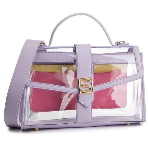 Torebka SILVIAN HEACH - Handbag Silvian Plastic RCP19134BO Pink Aurora/Lilac/Sun
