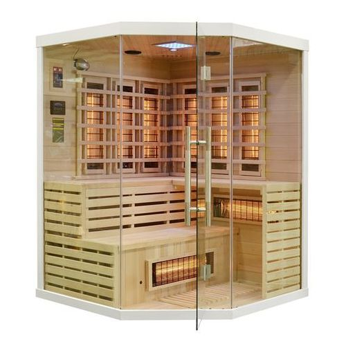 Home & garden Sauna infrared z koloroterapią ea3cr white (5902425329443)