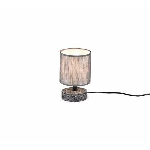 rl marie r50980111 lampa stołowa lampka 1x28w e14 szara/szara marki Trio