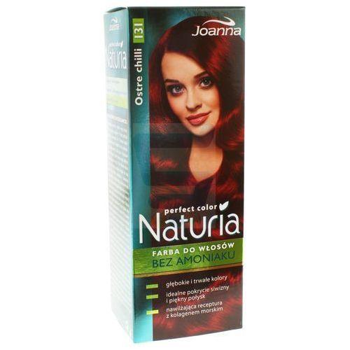 Joanna Naturia Perfect Color Farba do włosów bez amoniaku Ostre Chilli nr 131, kolor rudy