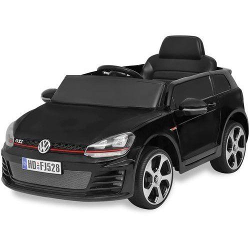 Vidaxl samochód-jeździk vw golf gti 7 ze zdalnym sterowaniem, czarny (8718475956228)