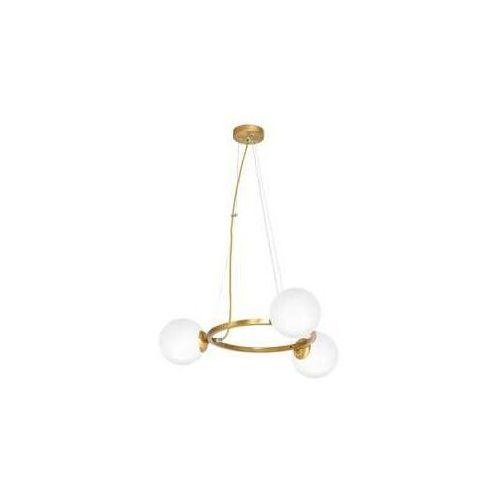 Milagro vienna mlp5576 lampa wisząca zwis 3x40w e14 mosiądz (5902693755760)