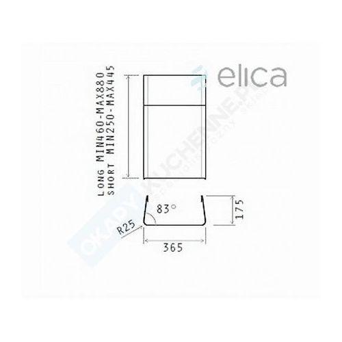 Komin krótki ELICA KIT0010701 - Największy wybór - 14 dni na zwrot - Pomoc: +48 13 49 27 557