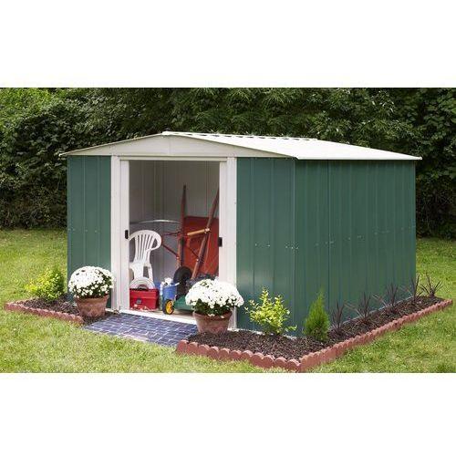 Arrow Metalowy domek ogrodowy dresden 3,1 x 3,7 m