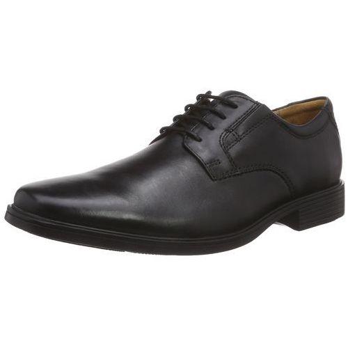Clarks TILDEN PLAIN Oksfordki black (5051041533267)