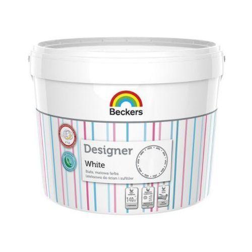 BECKERS DESIGNER WHITE- farba lateksowa, 10 l (głęboki mat)