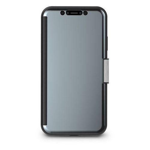 Moshi StealthCover Etui Z Klapką iPhone Xr (Gunmetal Gray), kolor szary