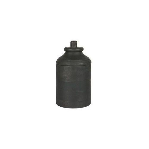 Be pure pojemnik drewniany szary m 800789-g