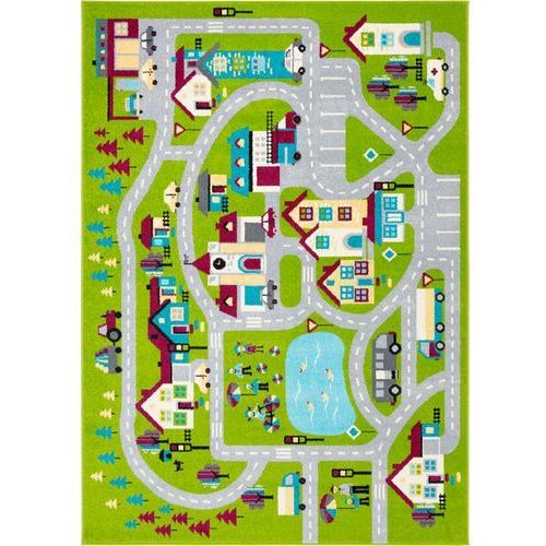 Dywan Agnella Funky Top Super Miasto S Zielony 160x220