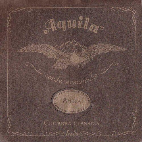 Aquila Ambra 900 - Nylgut & Silver Plated Copper / Classical Guitar struny do gitary klasycznej, Low Tension