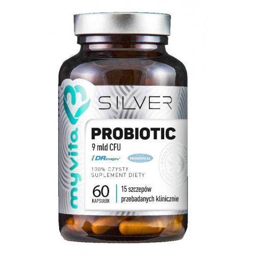 Myvita Probiotyk 9mld cfu 60 kapsułek - silver