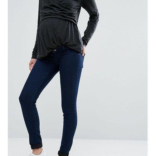 Mamalicious under the bump skinny jeans - blue, Mama.licious