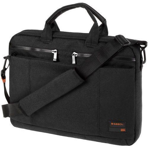 "Gabol spectrum torba na laptopa 15,6"" / czarna"