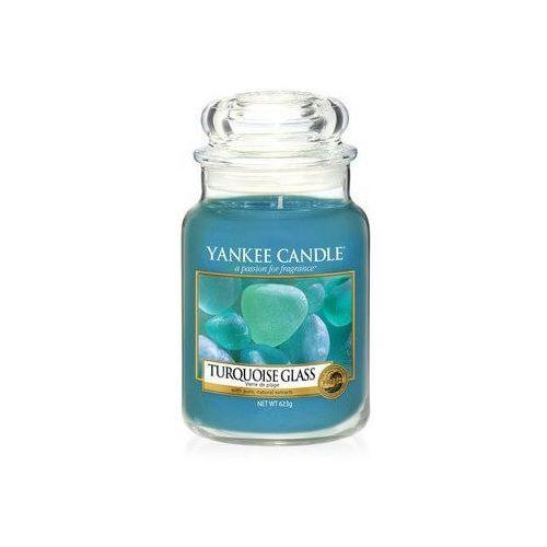 świeca turquoise glass 623g marki Yankee candle