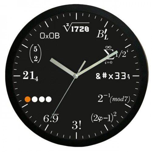 Zegar ścienny matematyka #2b marki Atrix