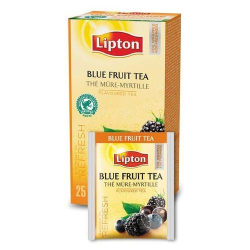 Czarna aromatyzowana herbata Lipton Classic Blue Fruit Tea 25 kopert, towar z kategorii: Czarna herbata
