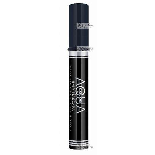 Kryolan  - aqua color hair mascara - wodna maskara do włosów - art. 2296 - brown