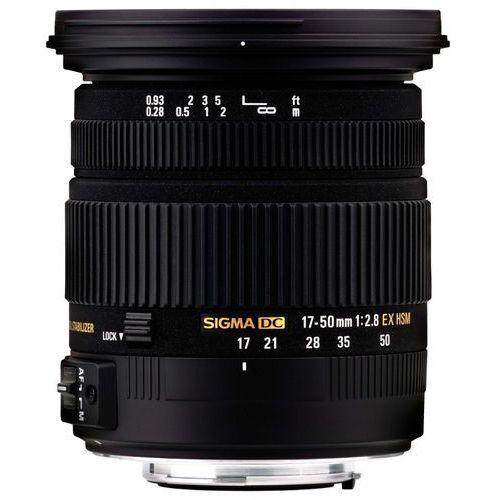 Obiektyw SIGMA Digital AF 17-50/2.8 EX DC OS HSM Canon + DARMOWY TRANSPORT! (0085126583545)