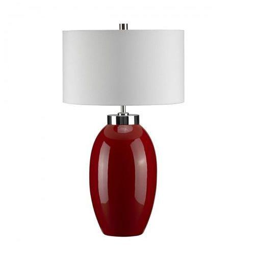 Victor Red Small Nocna Elstead VICTOR SM/TL RD 58cm ceramika-czerwony-kremowy