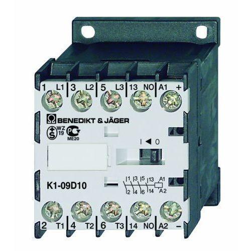 Benedict&jager 3 polowy / 4kw / 9a / 125v dc / 1r / z modułem tłumiącym k1-09d01=125vs