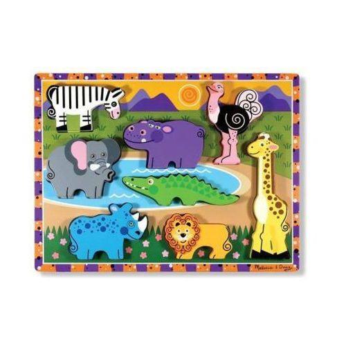 puzzle drewniane safari 13722 marki Melissa & doug