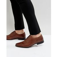 River Island Leather Oxford Shoes In Brown - Brown