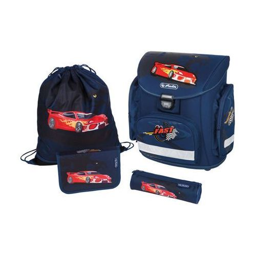 Zes tornister plecak midi plus red panther - red panther marki Herlitz