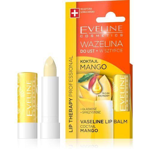 Eveline kolorowka Eveline lip therapy wazelina do ust w sztyfcie wygładzająca koktajl mango 1szt