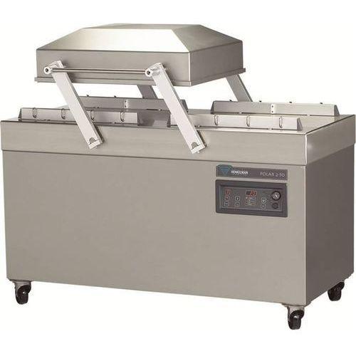 Pakowarka próżniowa przemysłowa polar 2-50 | listwa 2 x 620 mm | pompa 100m³ | komora 500x620x240 mm marki Henkelman