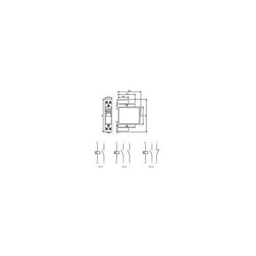 Przekaźnik impulsowy Finder 20.21.9.012.4000, 20-21-9-012-4000