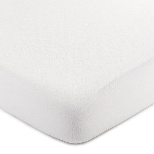 4Home prześcieradło jersey, białe, 140 x 200 cm, 229365