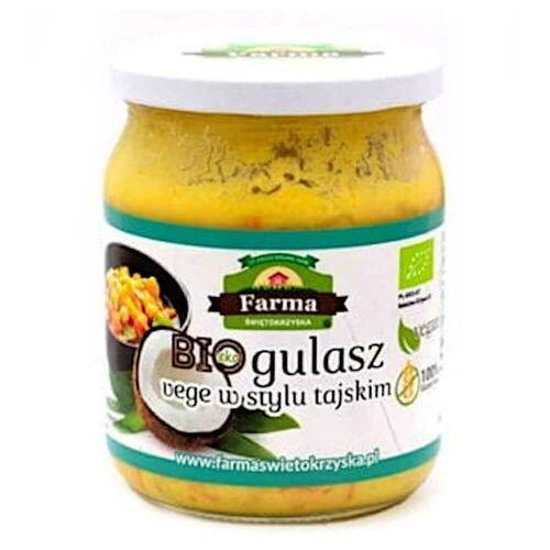 Gulasz vege w stylu tajskim bio 450 g - farma świętokrzyska marki Farma świętokrzyska (przetwory owoc.-warz.,chleby